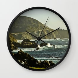 Bixsby Bridge Vista Wall Clock