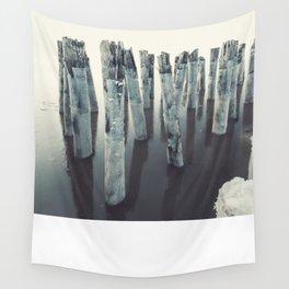 Frozen in the Tide Wall Tapestry