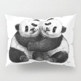 Panda's Hugs G143 Pillow Sham