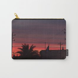 Galveston Sunset Carry-All Pouch