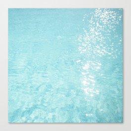 Pool sparkle Canvas Print