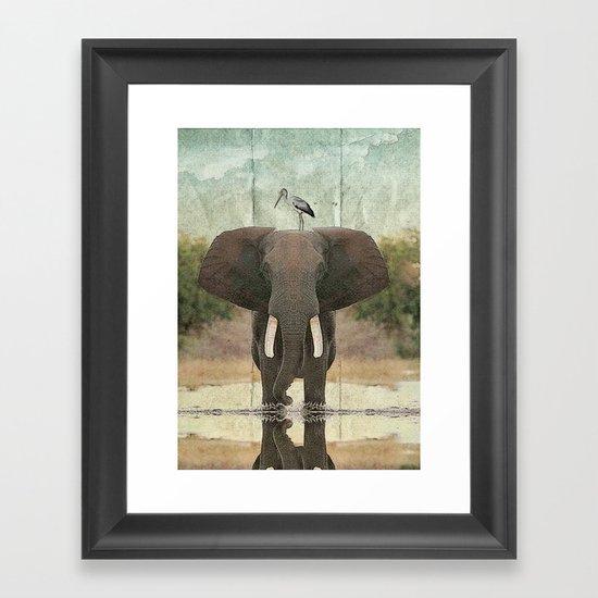 friends for life 03 Framed Art Print