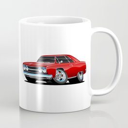 Classic Muscle Car Cartoon Coffee Mug