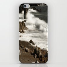 Ocean Waves and Rocks iPhone & iPod Skin