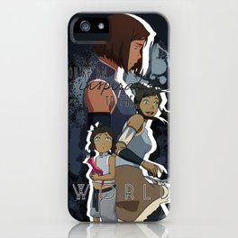 Korra - To The World iPhone Case