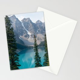 Moraine Lake - Trees Stationery Cards