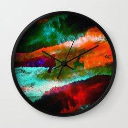 Kamikaze Wall Clock
