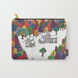 Hike to Autumn Solitude Carry-All Pouch