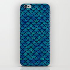 Mermaid scales iridescent sparkle  iPhone & iPod Skin