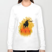 native Long Sleeve T-shirts featuring Native by Max Wellsman
