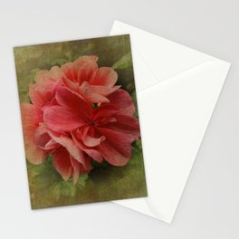 Pink Geranium at Barthel's Farm Market Stationery Cards
