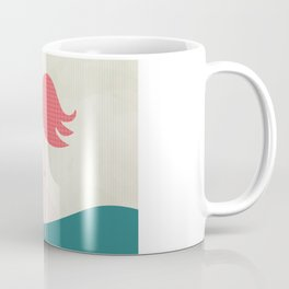 Flamingo has an ice cream Coffee Mug