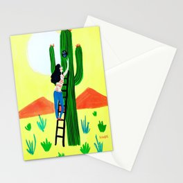 Elf Owl in th Desert Stationery Cards