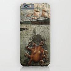 paper III :: octopus/ship iPhone 6s Slim Case