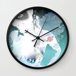 She's from another word 2 Wall Clock