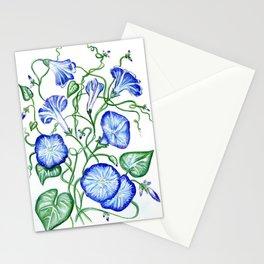 Morning Glory Vine Stationery Cards