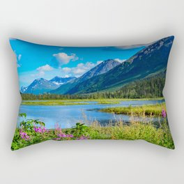 God's Country - II, Alaska Rectangular Pillow