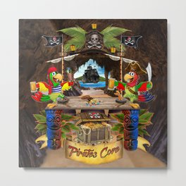 Pirates Cove Metal Print