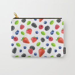 Fresh berries pattern Carry-All Pouch