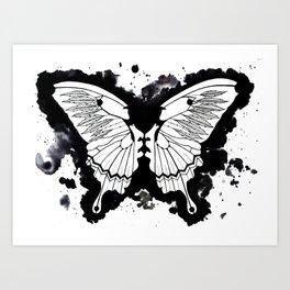 Butterflies in my stomach Art Print