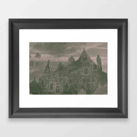unknown sorroundings Framed Art Print