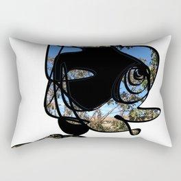 Profile of a Nature Lover Design - RegiaArt Rectangular Pillow