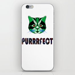 Purrfect,Quit hiding your magic, the world is ready for you iPhone Skin