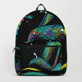 digital cream Backpack
