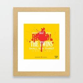 First Blood! Bloodseeker Framed Art Print