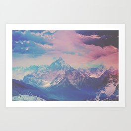 INFLUENCE Art Print