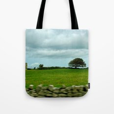 Speeding By The Irish Countryside Tote Bag