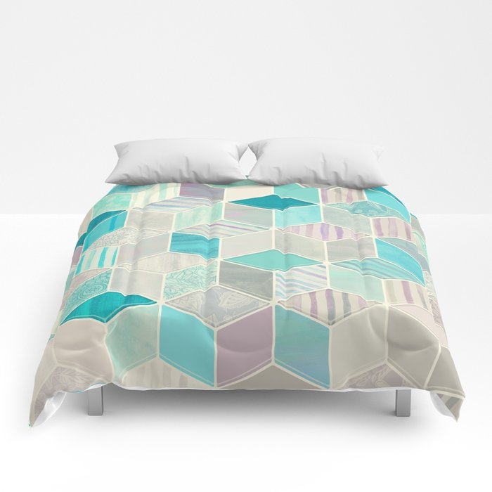 Vacation Patchwork Comforters