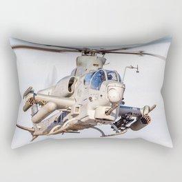 USMC Cobra Attack Helicopter Rectangular Pillow