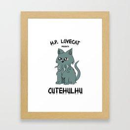 Lovecat Framed Art Print