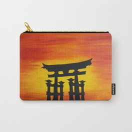 Tori Sunset Carry-All Pouch