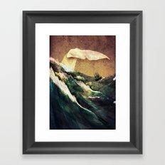 Moby Dick Framed Art Print
