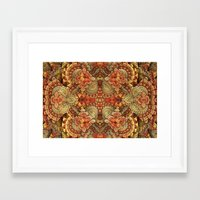 turkey Framed Art Prints featuring Turkey Feathers by Lyle Hatch