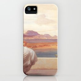 Winding the Skein - Frederic Leighton iPhone Case
