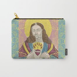 Jesus Christ Eclectic Art Carry-All Pouch