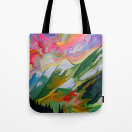 Coquihalla Sunrise Tote Bag