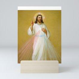 Jesus the Savior Christ Blessing Catholic Religious Christian Art Mini Art Print