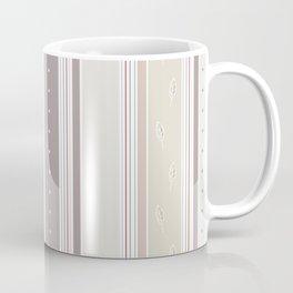 Simple and elegant lines - beige grey Coffee Mug
