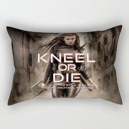 Kneel Or Die Rectangular Pillow