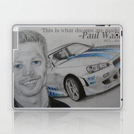 Paul Walker Tribute Laptop & iPad Skin