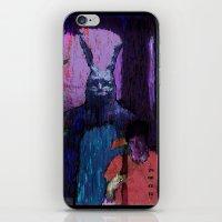 donnie darko iPhone & iPod Skins featuring Donnie Darko by brett66