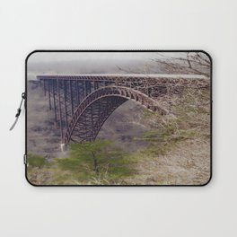 High Above the New River Gorge Laptop Sleeve