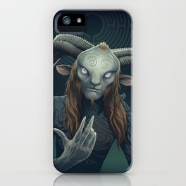 Faun iPhone Case