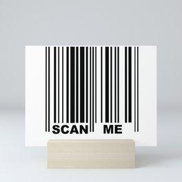 Scan Me Mini Art Print