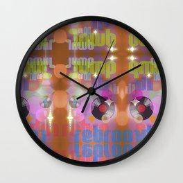 Jump On Retro Wall Clock