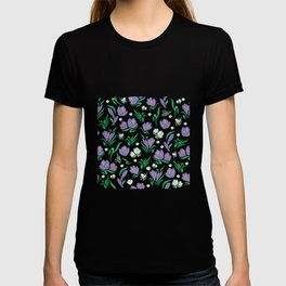Crocus background T-shirt